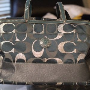 Authentic Coach Tote/ Diaper Bag